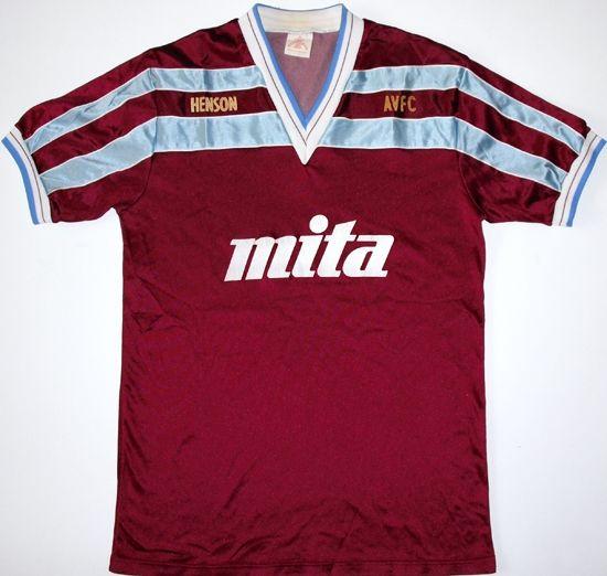 1985 87 Aston Villa Home Shirt Aston Villa Kit Classic Football Shirts Football Shirts