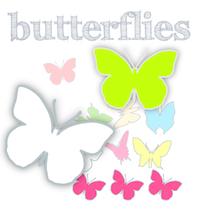 Free digital butterfly scrapbooking papers - ausdruckbares Geschenkpapier - freebie | MeinLilaPark – digital freebies