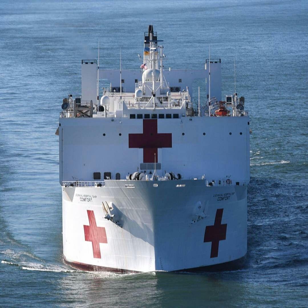 Usns Comfort T Ah20 Navy Ships Warship Aircraft Carrier