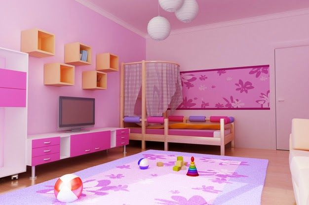 Small Girls Room little girls room ideas - girls bed with small canopy   kashni
