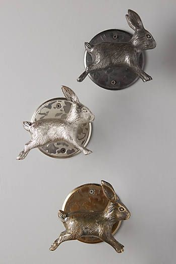 Leaping Rabbit Tie Back | For the Home | Pinterest | Rabbit ...