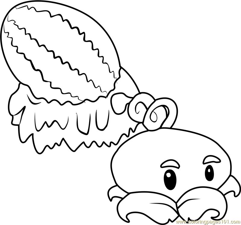Plants Vs Zombies Coloring Pages Coloring Pages Winter Plant Zombie Fall Coloring Pages