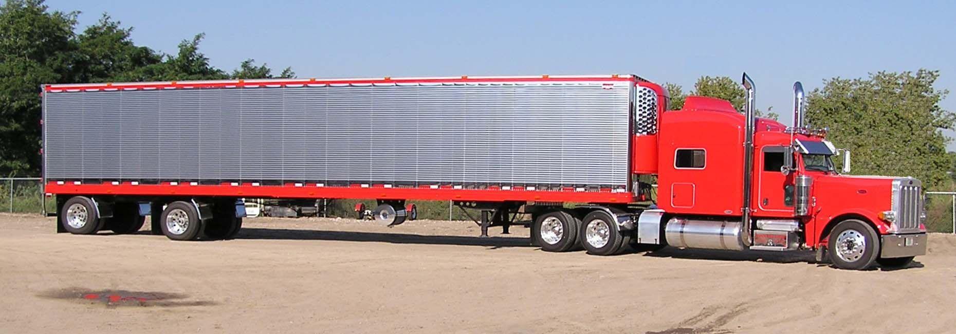 Galleries red peterbilt trucks html