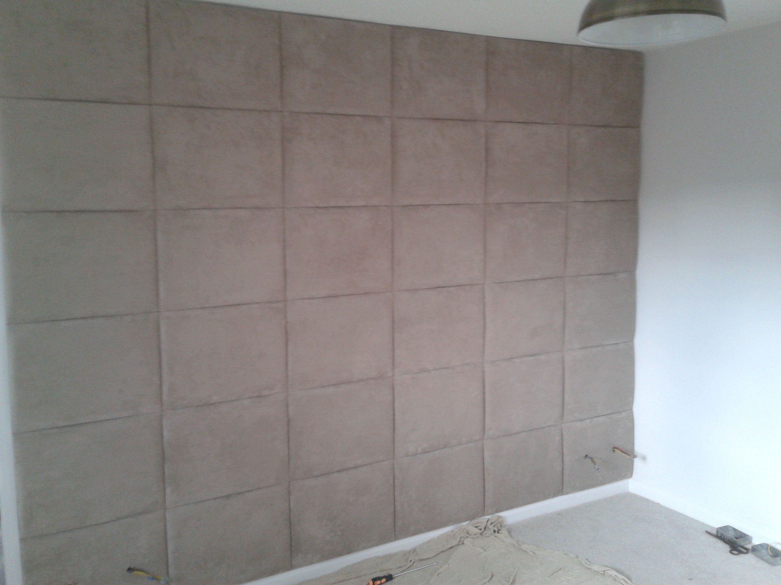 Harmony Chenille Stone Upholstered Walls Padded Wall Wall Tiles