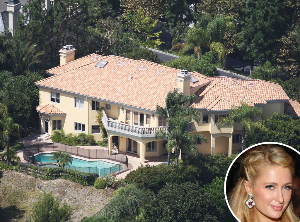 Beverly Hills From Celebrity Mega Mansions This House Where Paris Hosted Her 2009 Party Is Just One Of The Heiress Many Homes