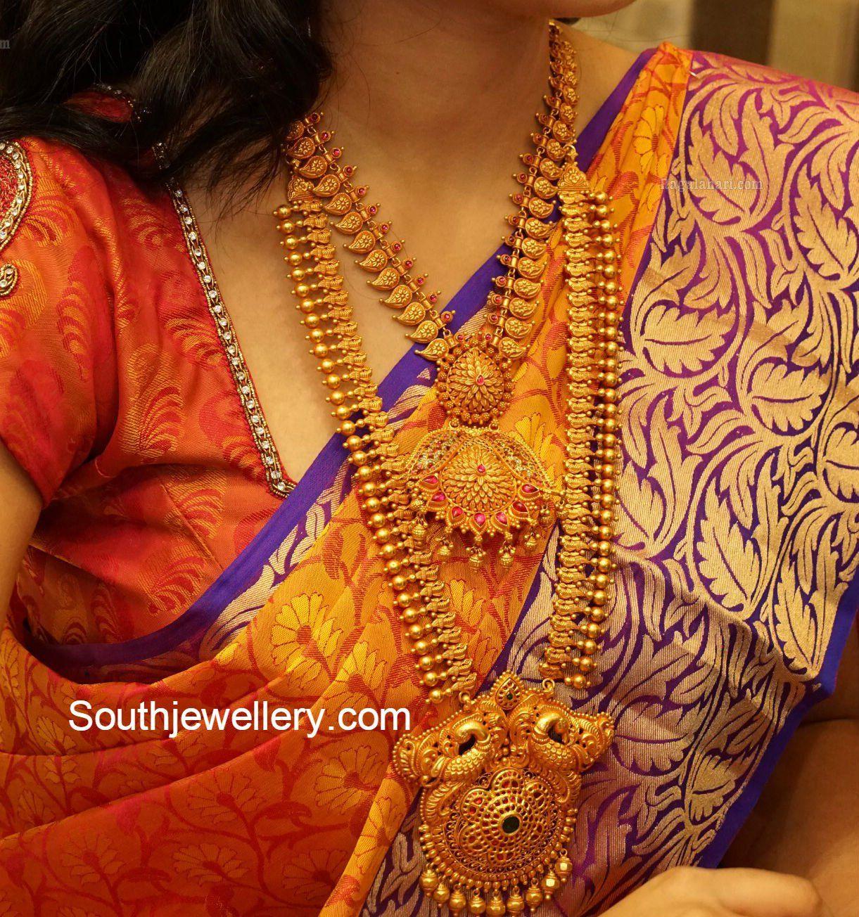 Suhasini in gundla haram jewellery designs - Vaddanam Latest Jewelry Designs Page 6 Of 28 Jewellery Designs