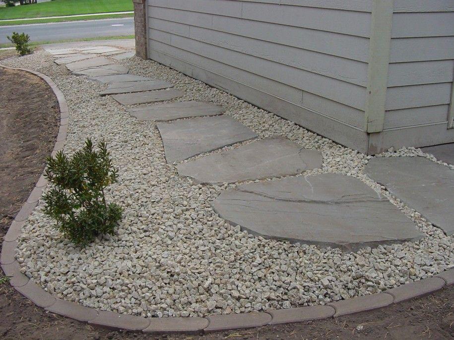 Terrific Ideas For Lawn Edging Charming Landscape Edging Ideas