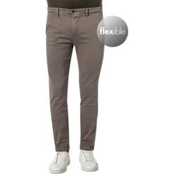 Replay Chinos Herren, Baumwolle, braun Replay