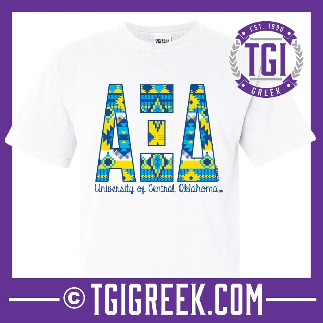 Alpha Xi Delta - TGI Greek - Comfort Colors - Greek T-shirts - #TGIGreek #AlphaXiDelta