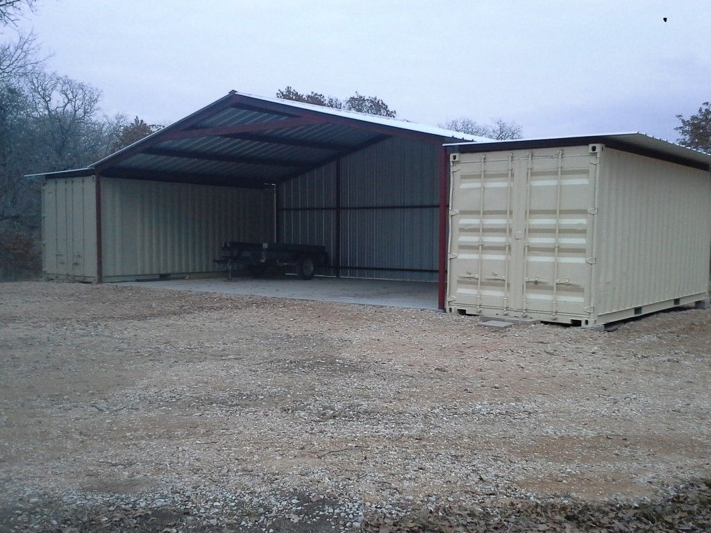 Shipping Container Garage Workshop Sheds
