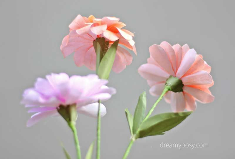 How to make zinnias paper flower from printer paper free template how to make zinnias paper flower from printer paper free template mightylinksfo