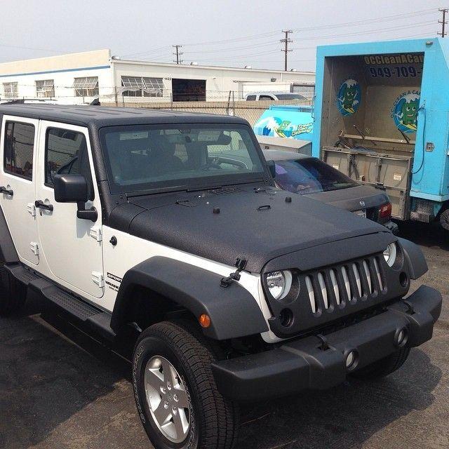 Rhino Lined Hood Jeep Wrangler Google Search Jeep Jeep