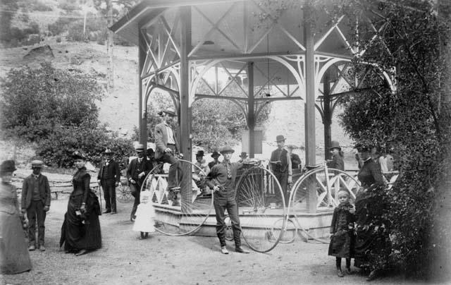 Ute Iron Springs in Manitou Springs - 1885