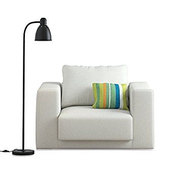 Wallniture adjustable reading floor lamp with foot control on off wallniture adjustable reading floor lamp with foot control on off switch black black floor lamp pinterest black floor lamp floor lamp and black aloadofball Images