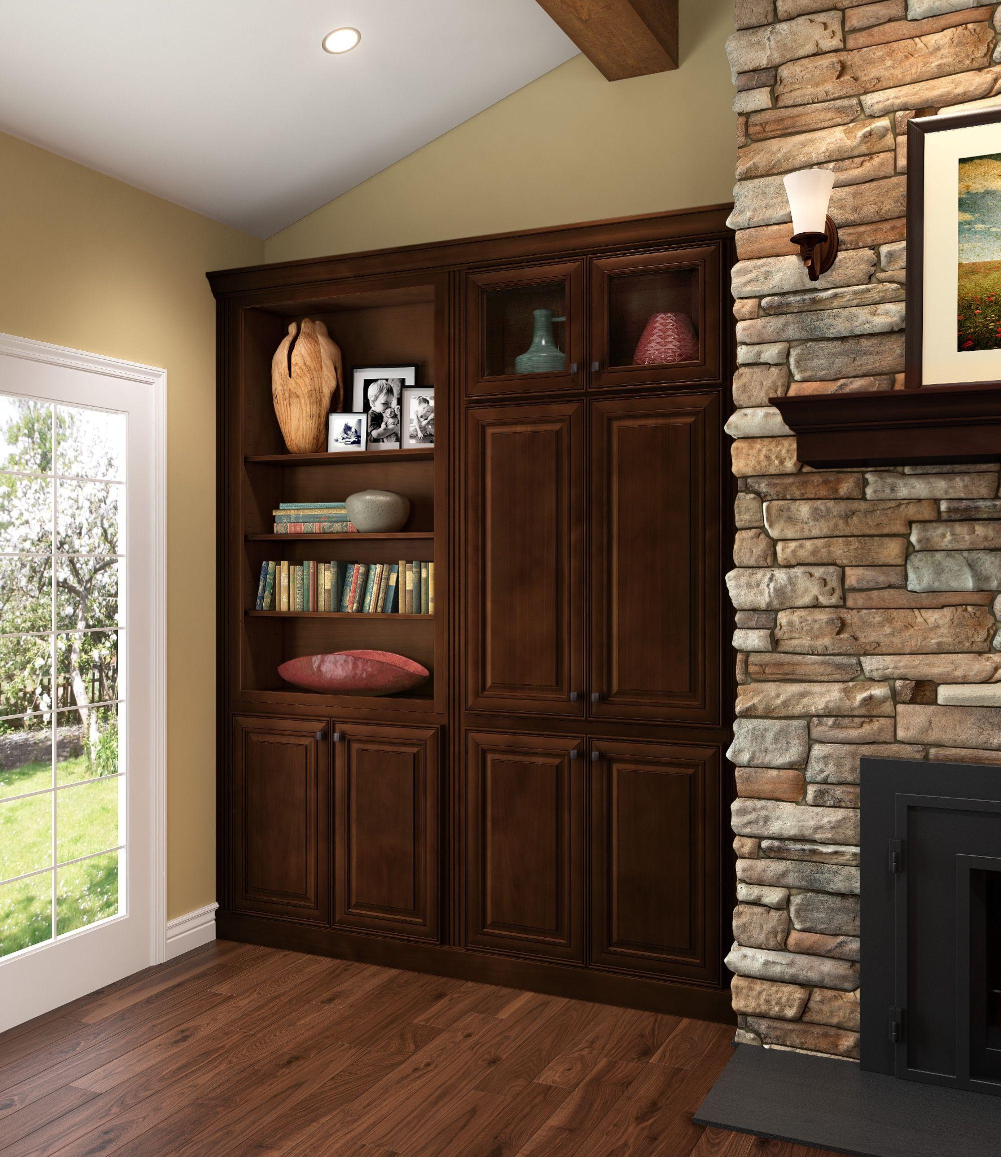 Shenandoah Cabinets - McKinley   Maple kitchen cabinets ...