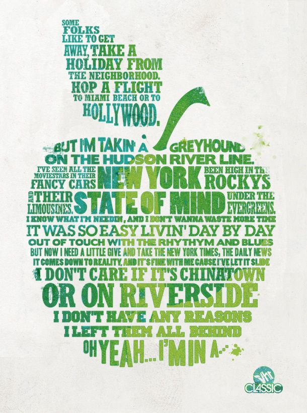 The original New York State of Mind--said best by Billy Joel