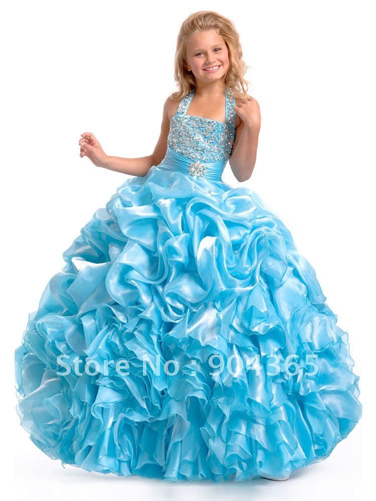 flower girl dresses for 11 year old girls | ... Pageant Dresses ...