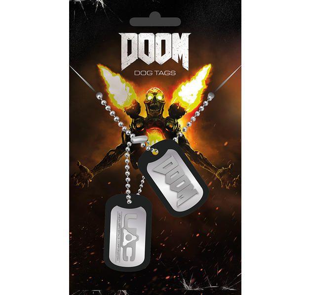 Doom Dog Tag Logo