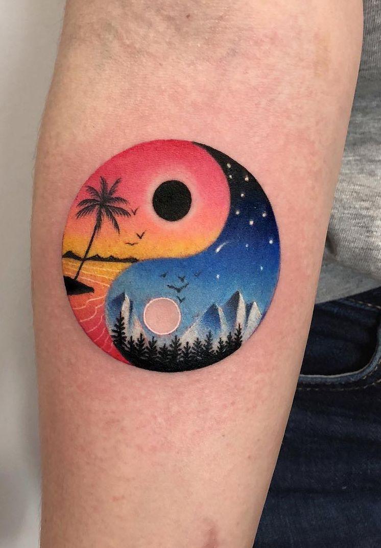 b2c6ca904 Daria Stahp Creates Vibrant Double-Exposure Tattoos | Tattoo designs ...