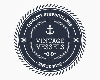 40+ Retro & Vintage Themed Logo Designs for Inspiration | The old ...