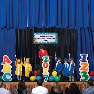 ABC 123 Stage Prop Set Graduation DecorationsGraduation IdeasStage