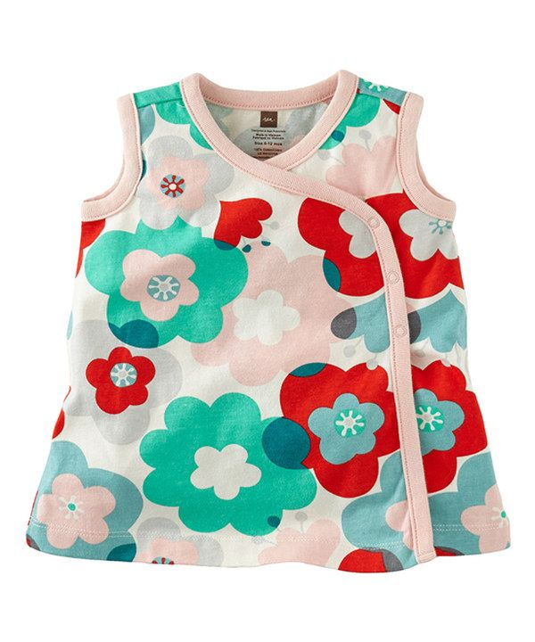 Look at this Chalk Floral Riesenblume Wrap Top - Infant on #zulily today!