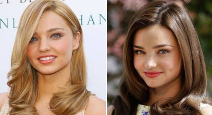 Blonde Vs Brunette Celebs Who Made The Switch Blonde Vs Brunette Brunette To Blonde Brunette Celebrities