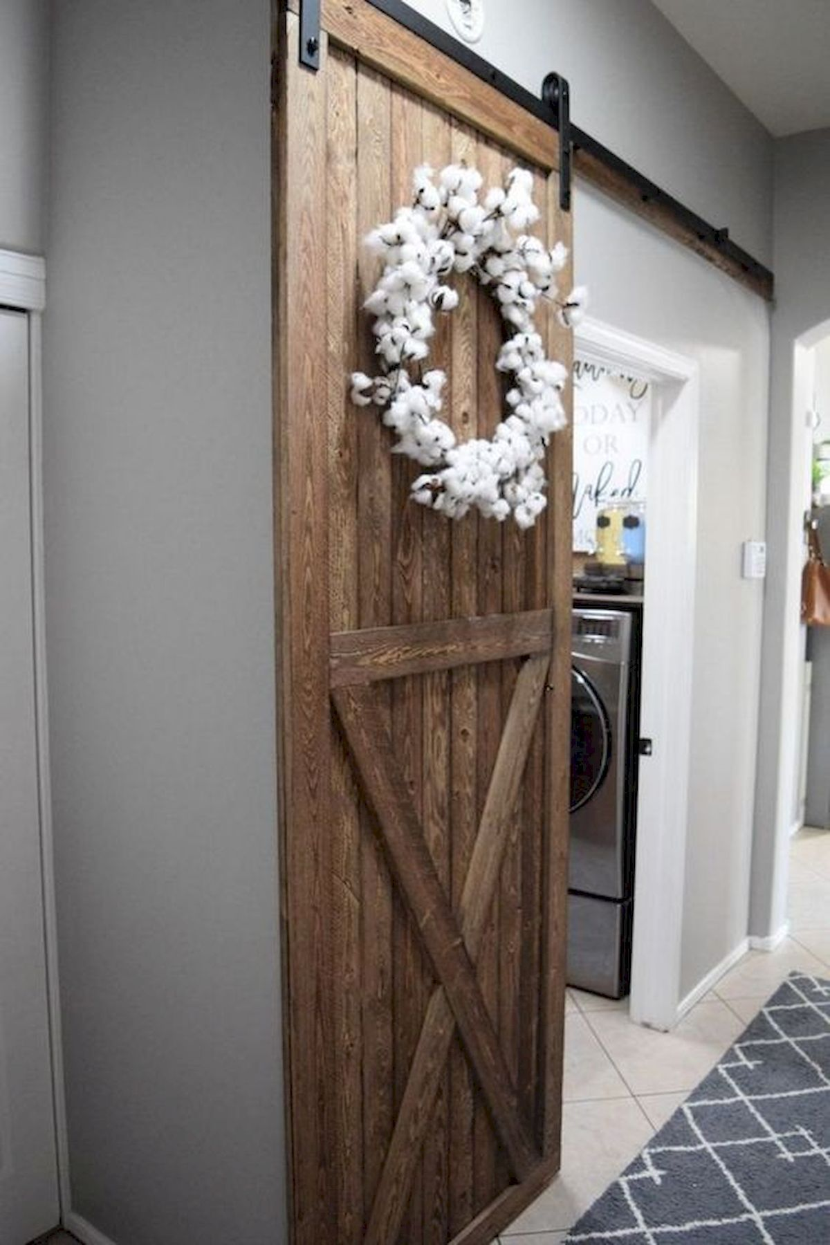Sliding 2 Panel Z Style Walston Door Company In 2020 Diy Sliding Barn Door Barn Door Designs Barn Door Pantry