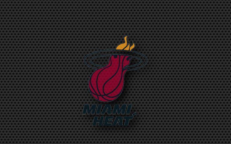 Brick Wallpaper Black Carbon Miami Logo Miami Heat Basketball Drawings Miami Heat Logo