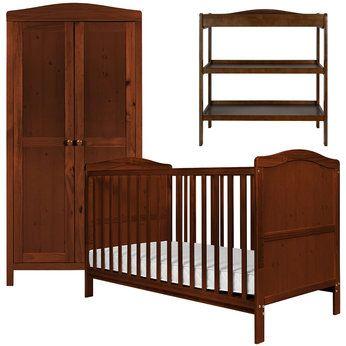 Cambridge Nursery Furniture Set In Dark Babies R Us Nursery Furniture Sets Nursery Furniture Dresser Furniture