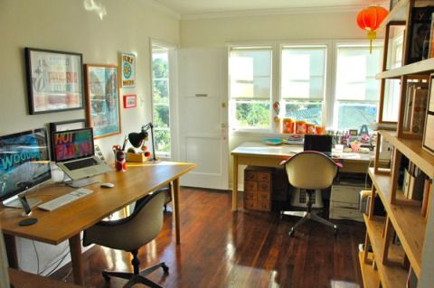 Great examples of home offices for two examples offices for Office design examples