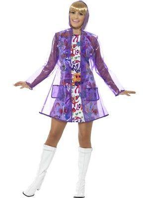 3d66633e5d6b44 60er Jahre Regenmantel Regencape Damen Kostüm Festival Raincoat, 1970s  Costumes, Halloween Costumes, Pvc