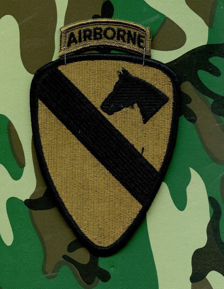 USA Vietnam 1st Cavalry Division - Airborne patch Subdued  08c577c6048
