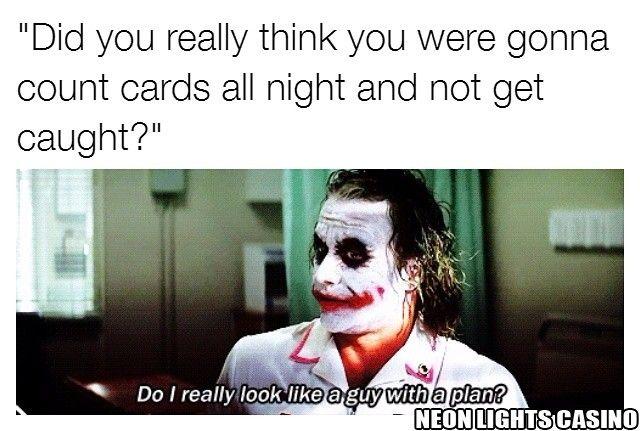 Memes Casino Gambling Betting Blackjack Cards Thejoker