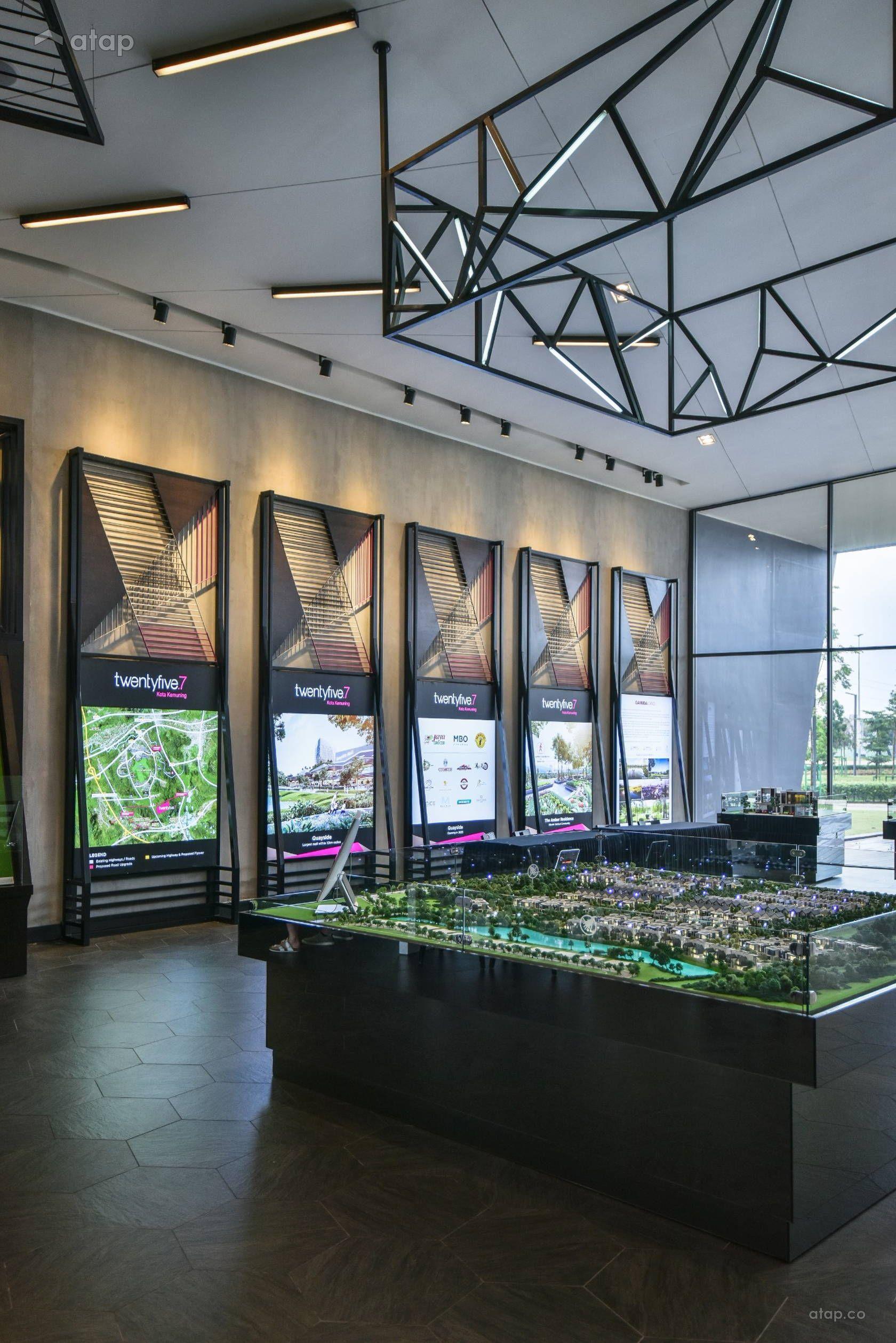 Twentyfive 7 Sales Gallery Interior Design Renovation Ideas