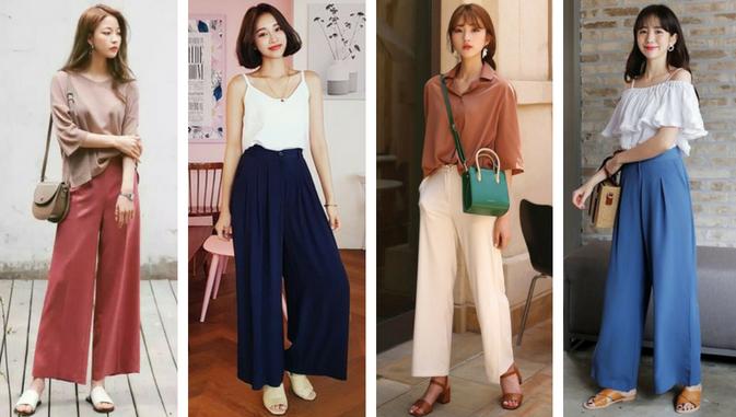 Mau Stylish Ala Cewek Korea Ini Daftar Model Baju Wanita Yang Populer Di Korea Styling Pod Model Pakaian Mode Korea Wanita
