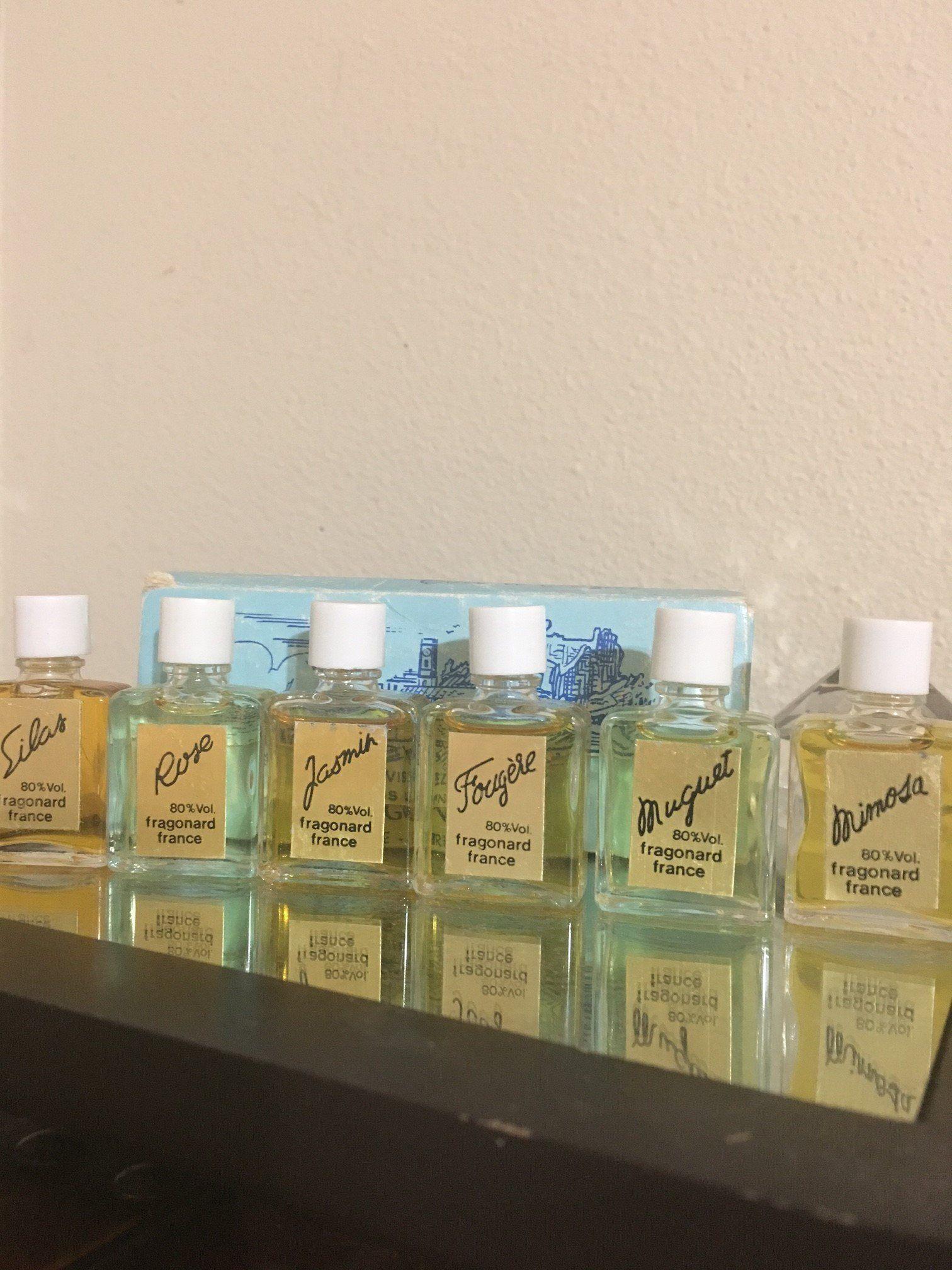 Vintage Fragonard Mini Perfume Set By Gingersscents On Etsy