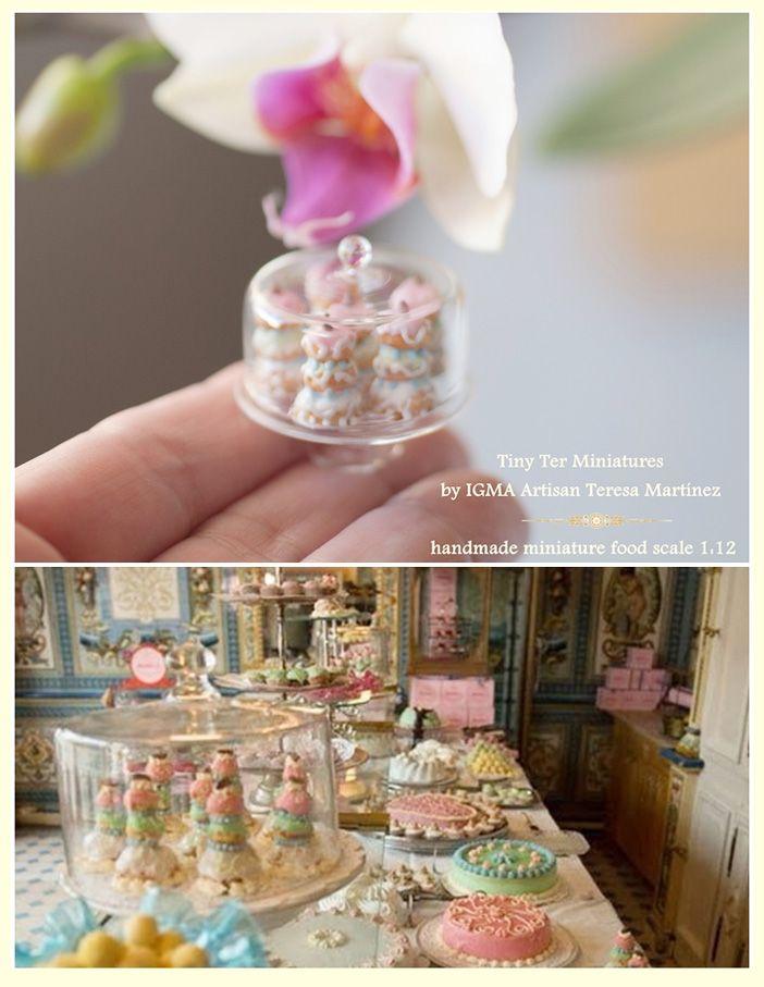 Tiny Ter Miniatures By IGMA Artisan Teresa Martínez