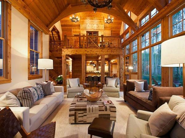 Jerry Seinfelds Living Room At His Telluride Colorado Mansion