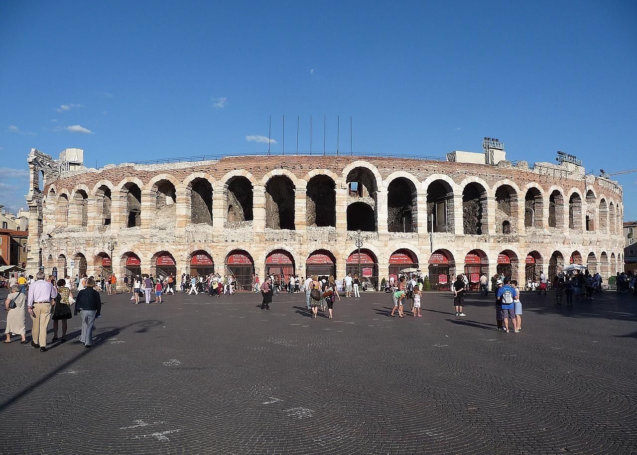 Sights Apt Arena The Pink Marble Roman Amphitheatre Was Built In
