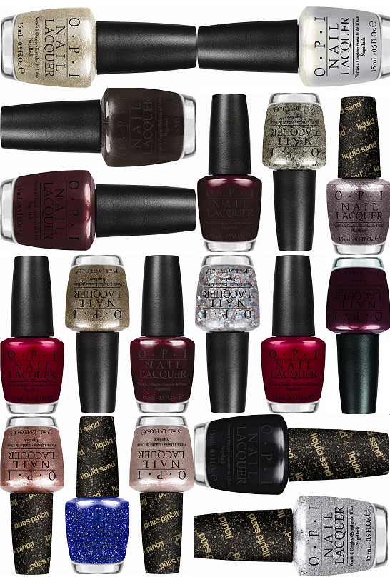 OPI Mariah Carey Holiday Collection 2013 (Click through for the ...
