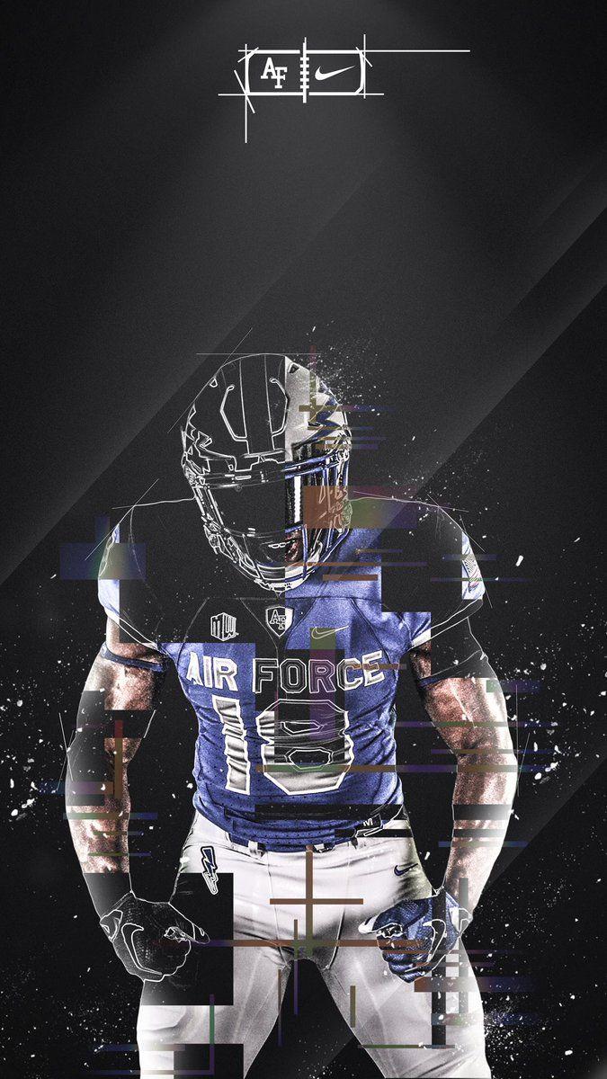 Air Force Sports Graphic Design Sports Design Inspiration Football Wallpaper