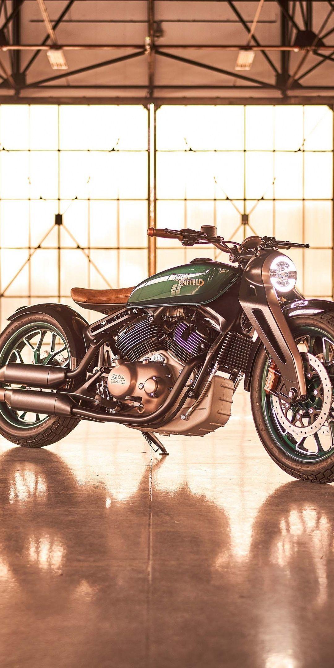 Royal Enfield KX, muscle bike, 2019, 1080x2160 wallpaper