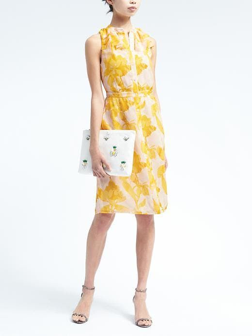 The cutest pineapple clutch (and it's on sale!). We're dying to get our hands on one of these.