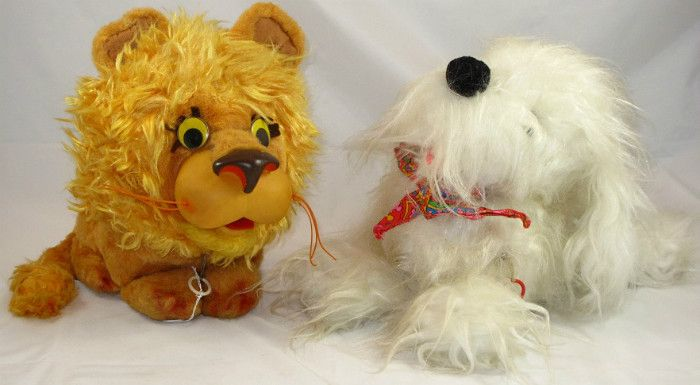 Sale Photo #87: Mattel Talking Larry the Lion and White Dog