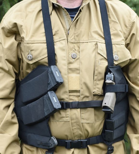 Arktis M674 Covert Carry Rig | Chest rig, Tactical gear
