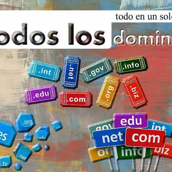 Todos los #dominios en #bogota #colombia o el #mundo