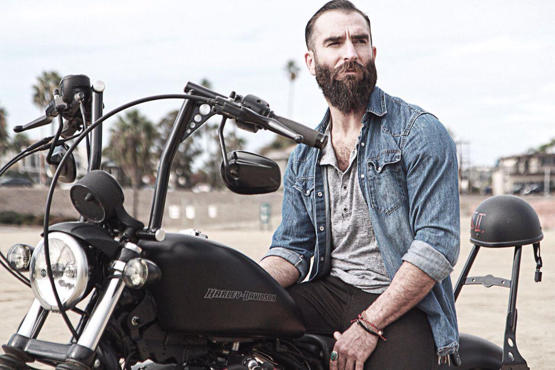 Harley Harleydavidson Iron883 Sportster Beard Bobber Harley Davidson Iron 883 Harley