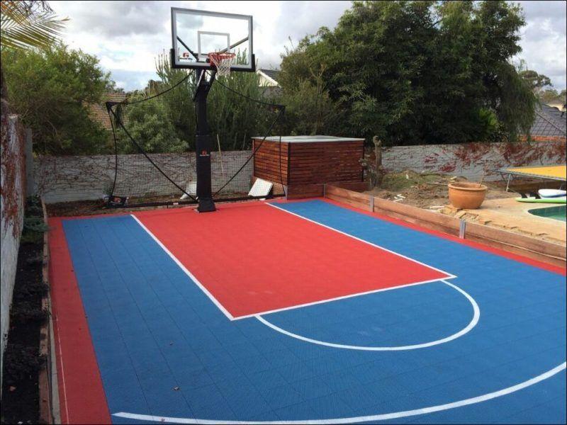 Backyard Basketball Half Court Cost – Calculate All The ...