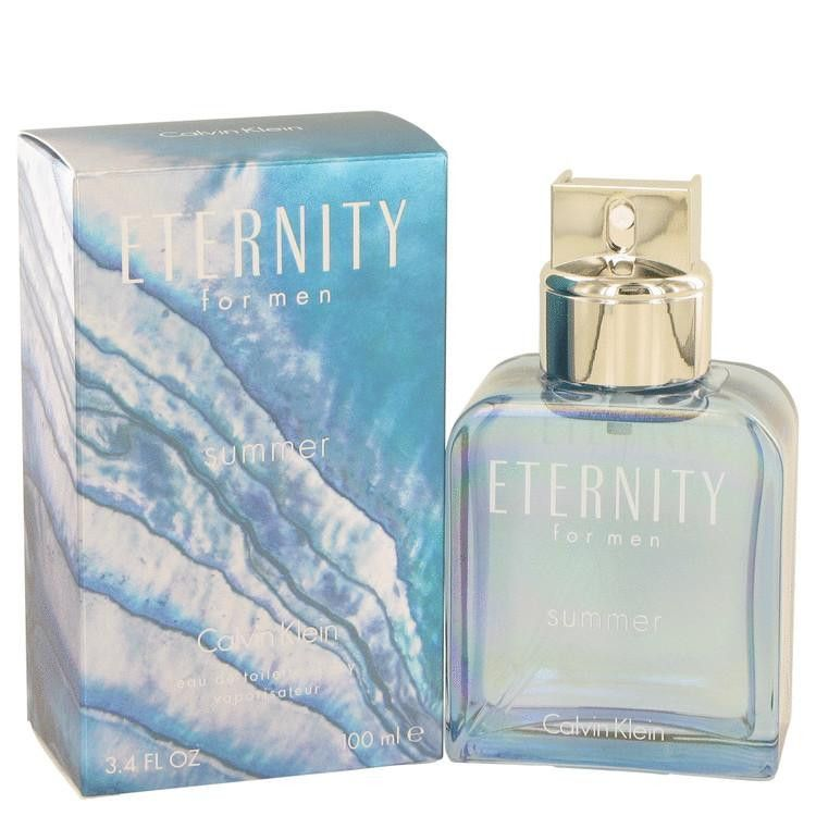 Eternity Summer by Calvin Klein Eau De Toilette Spray (2013) 3.4 oz
